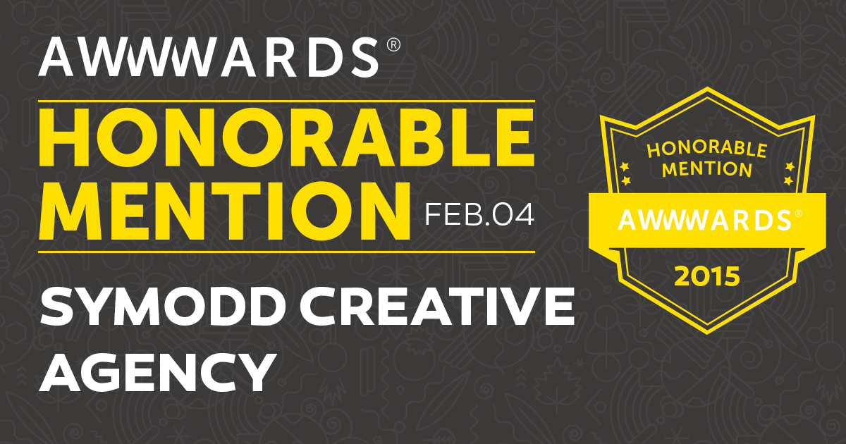 honorable-mention-symodd-morococ-agency-awwwards-agadir-agence-creative